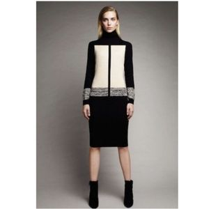 NARCISO RODRIGUEZ color block dress, Size S